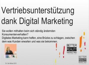 digitales marketing kann helfen, die Brücke zu schlagen, zwischen dem, was Kunden erwarten und was sie bekommen