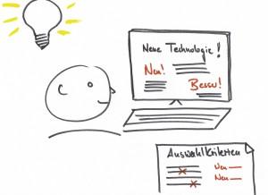 Online Information verändert die Auswahlkriterien im Kaufprozess